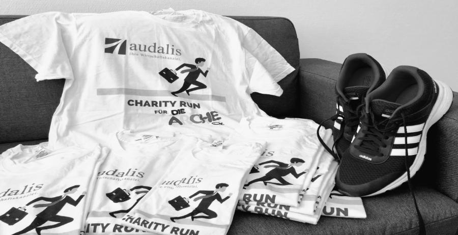 Charity Run 2019: audalis Berlin zeigt Herz
